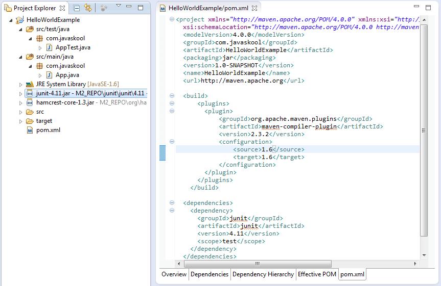 javaskool com - Apache Maven - as build tool : understanding